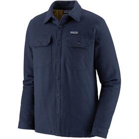 Patagonia Insulated Fjord Flannel jakke Herrer, blå